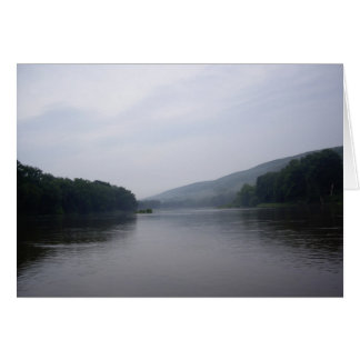 after the rain,  Delaware River, Pa. N.J. Card