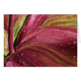 """""""After the Rain"""" Greeting Card"""