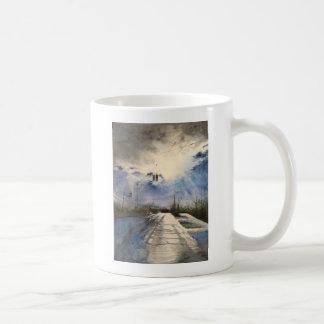After the Rain on the Michigan Ave., Saline MI Classic White Coffee Mug