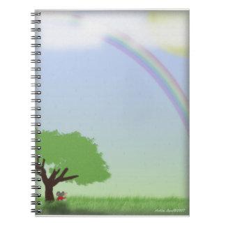 After the Rain Spiral Notebook