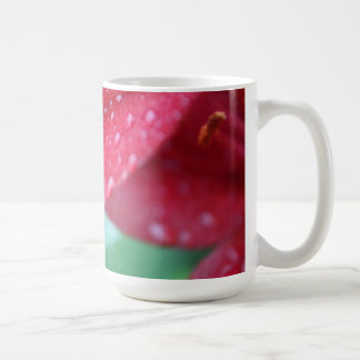 After the Rain Storm Lily Coffee Mug