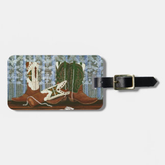 After the Rodeo Dance ~ Luggage Tag