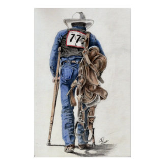 After the Rodeo Print
