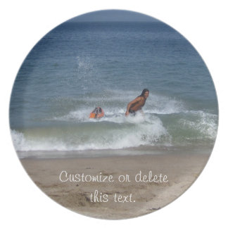 After the Splash; Customizable Plate
