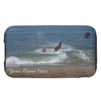 After the Splash; Customizable Tough iPhone 3 Case