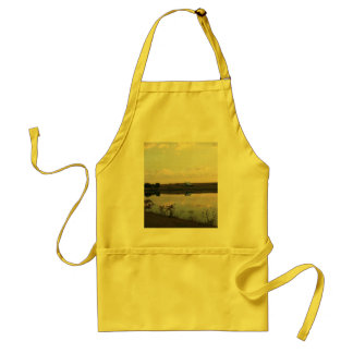 AFTER THE SUN RISES ADULT APRON