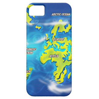 After the Thaw - Flooded Earth cartoon iPhone SE/5/5s Case
