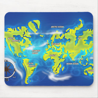 After the Thaw - Flooded Earth Mouse Pad