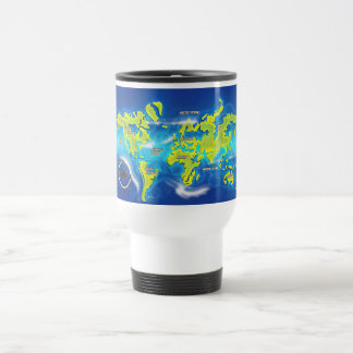 After the Thaw - Flooded Earth 15 Oz Stainless Steel Travel Mug