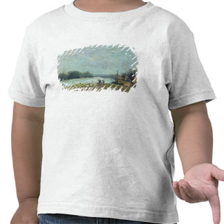 After the Thaw, the Seine at Suresnes Bridge T Shirt