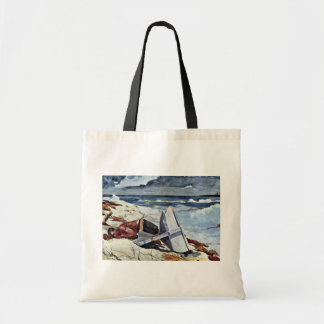 After The Tornado By Homer Winslow (Best Quality) Tote Bag