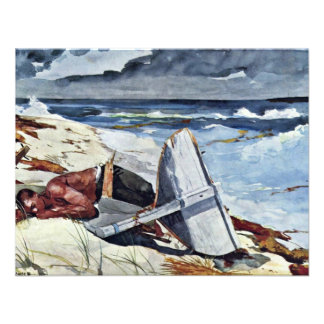 After The Tornado By Homer Winslow Best Quality Personalized Invites