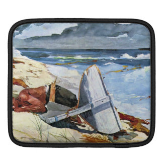 After the tornado by Winslow Homer iPad Sleeves