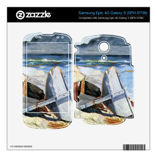 After the tornado by Winslow Homer Skin For The Samsung Epic