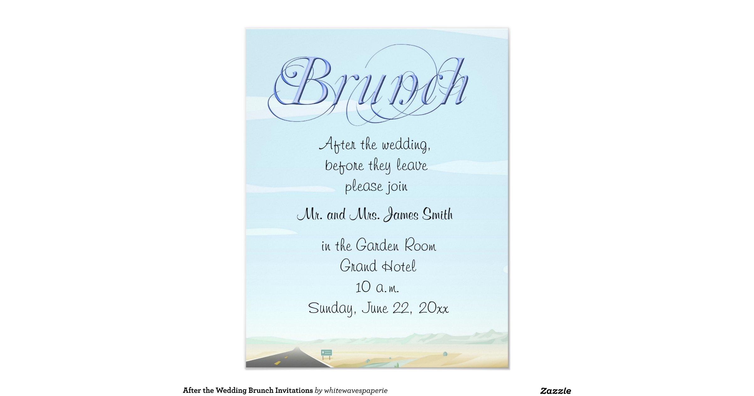 wedding brunch reception invitation wording - 28 images - bridal ...