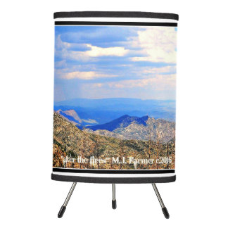 """""""After the Wildfires"""" Crown King Arizona Lampshade"""