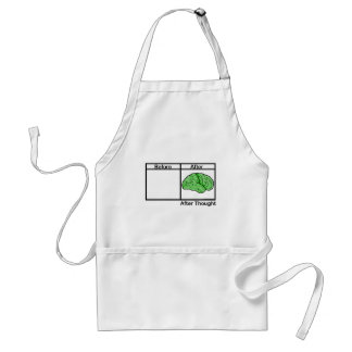After Thought Adult Apron