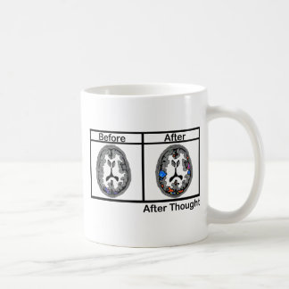 After Thought Classic White Coffee Mug