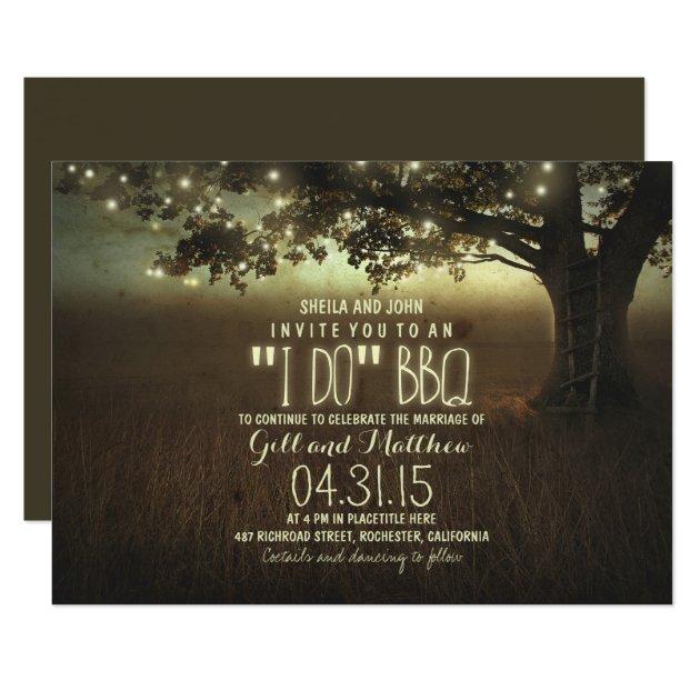 after wedding i do bbq invitation   Zazzle.com