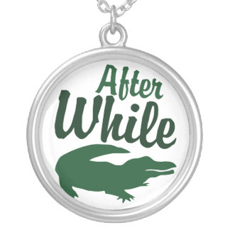 After While Round Pendant Necklace
