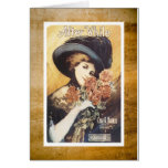 After While Victorian Woman Vintage Sheet Music Card