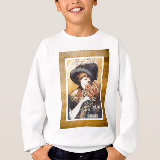 After While Victorian Woman Vintage Sheet Music Sweatshirt