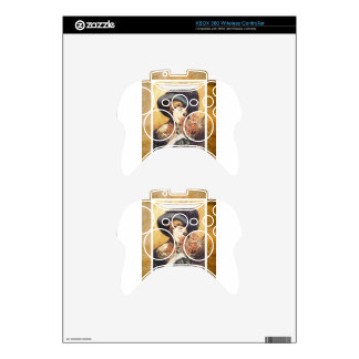 After While Victorian Woman Vintage Sheet Music Xbox 360 Controller Skins