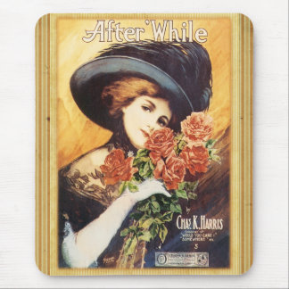 After While - Vintage Song Sheet Mouse Pad