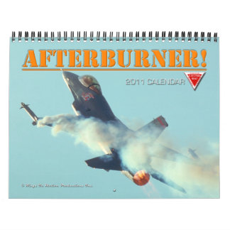 Afterburner 2011 Calendar of Fast Jets