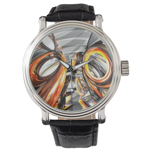 Afterglow Abstract Watches