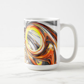 Afterglow Pastel Abstract Coffee Mug
