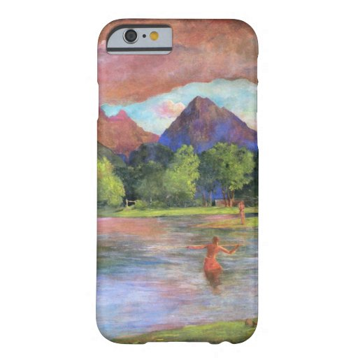 'Afterglow, Tautira River, Tahiti' - John LaFarge Barely There iPhone 6 Case