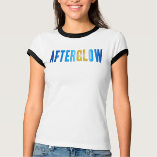 Afterglow Version 2 Ladies Ringer T-shirt