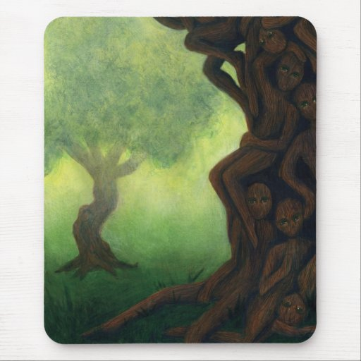 Afterlife Collection: Ghosts Mousepad