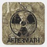 Aftermath Square Sticker