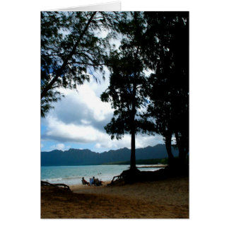 Afternoon at Bellows Beach Card