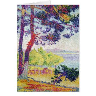 Afternoon at Pardigon, Var, 1907 Card