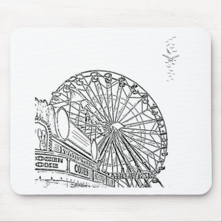 Afternoon at the Carnival Mousepads