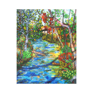 Afternoon At The Creek Canvas Print