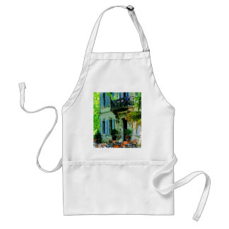 Afternoon at the French Cafe Adult Apron