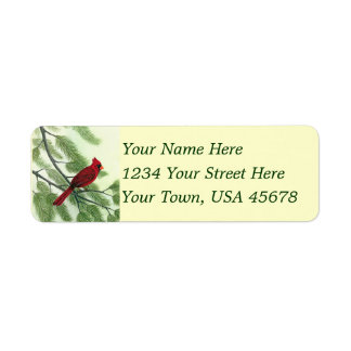 Afternoon Cardinal - Address Labels