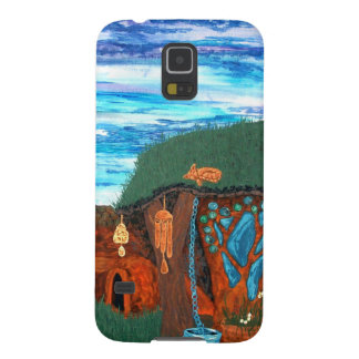 Afternoon Cob Earth Shelters Permaculture and Art Galaxy S5 Case