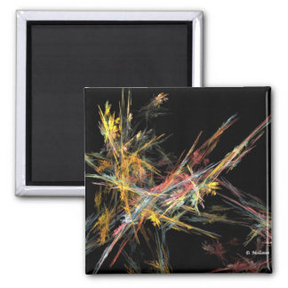 Afternoon Colors 2 Inch Square Magnet