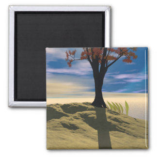 Afternoon Daydreams 2 Inch Square Magnet