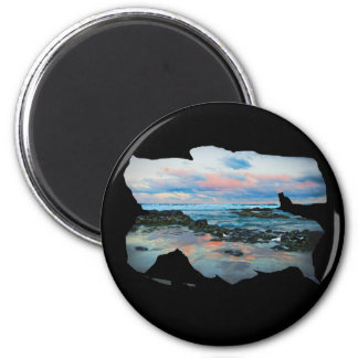 Afternoon Delight 2 Inch Round Magnet