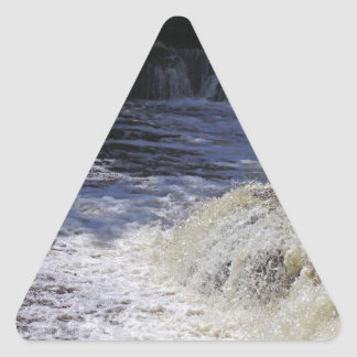 Afternoon Enchantment Triangle Sticker