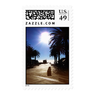 Afternoon In Hermosa Beach Stamps