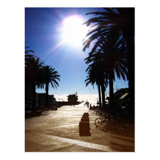 Afternoon In Hermosa Beach Postcard