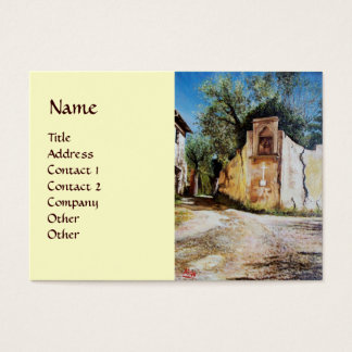 AFTERNOON IN RIMAGGIO / Tuscany View Business Card