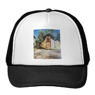 AFTERNOON IN RIMAGGIO / Tuscany View Trucker Hat